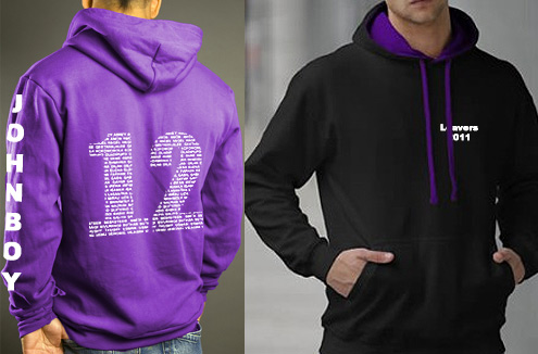 2012 new design for leavers hoodie