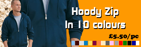 zip hooded tops